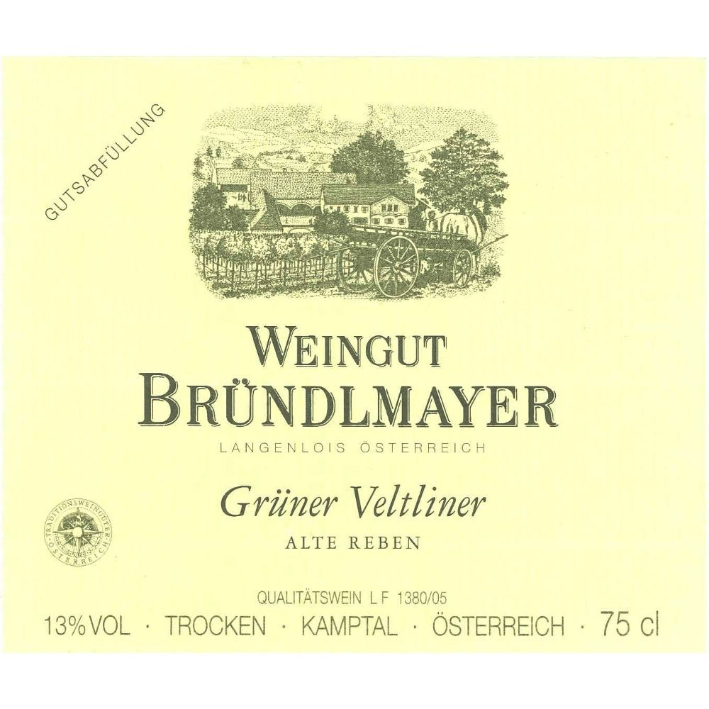 Brundlmayer Alte Reben Gruner Veltliner 2012 Front Label