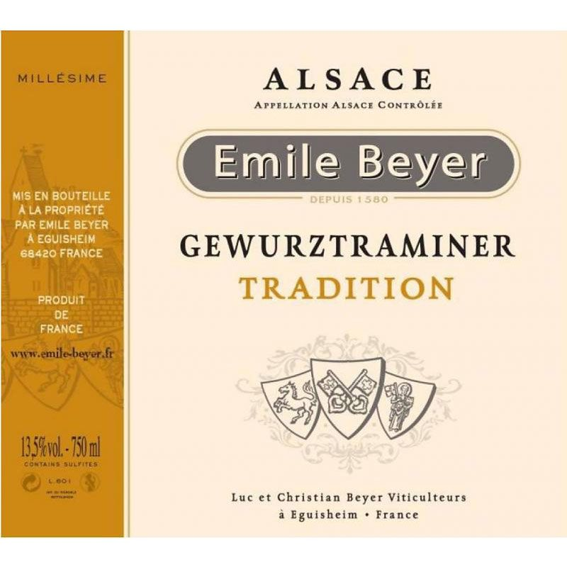 Domaine Emile Beyer Gewurztraminer Tradition 2015 Front Label