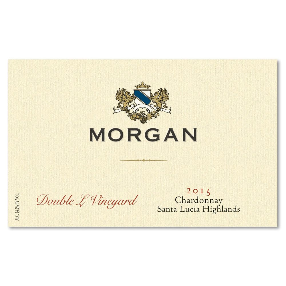 Morgan Double L Vineyard Chardonnay 2015 Front Label