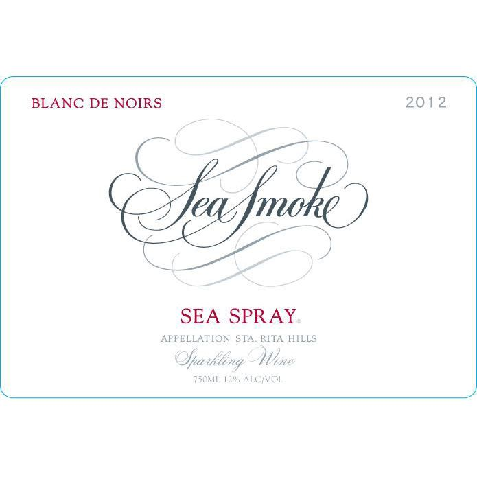 Sea Smoke Cellars Sea Spray Blanc de Noirs 2012 Front Label