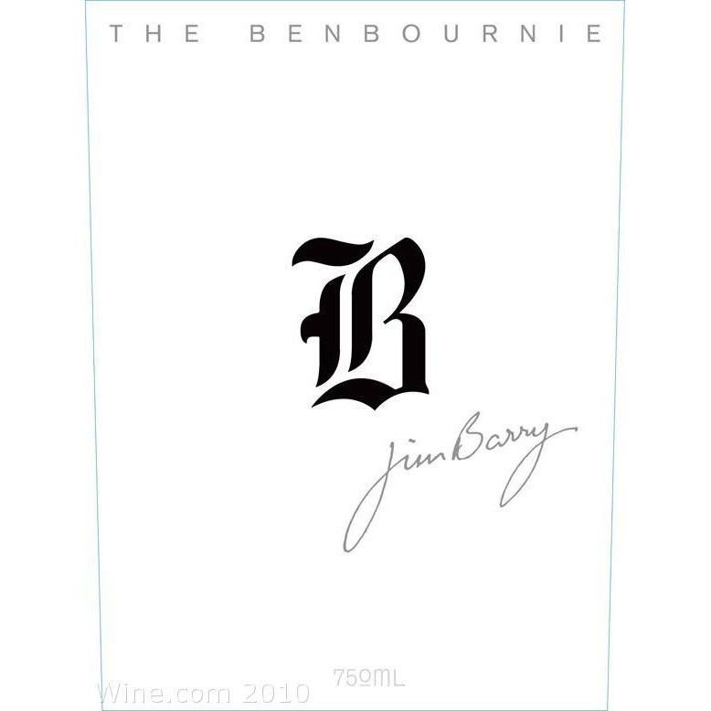 Jim Barry The Benbournie Cabernet Sauvignon 2010 Front Label