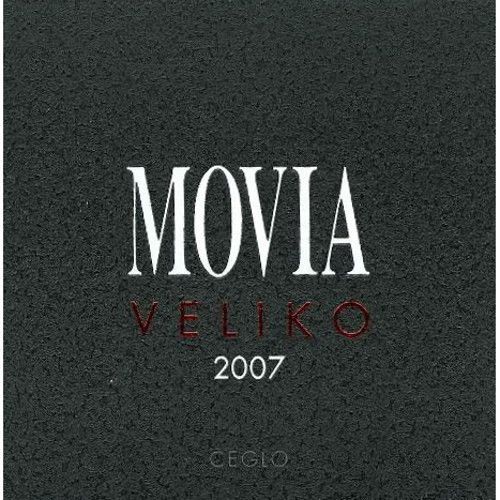 Movia Veliko Rosso 2007 Front Label