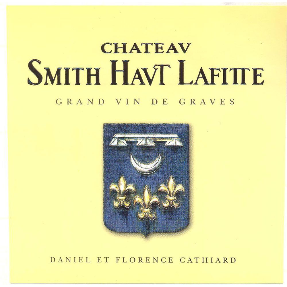 Chateau Smith Haut Lafitte Blanc 2013 Front Label