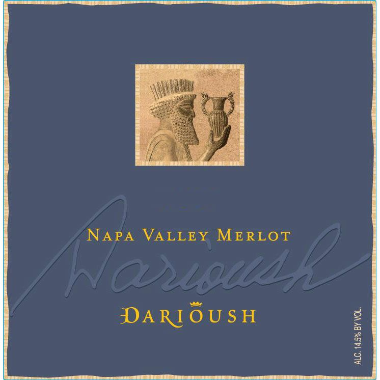 Darioush Signature Merlot 2006 Front Label