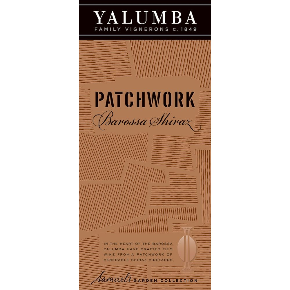 Yalumba Patchwork Shiraz 2014 Front Label