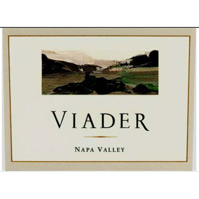 Viader Proprietary Red 2005 Front Label