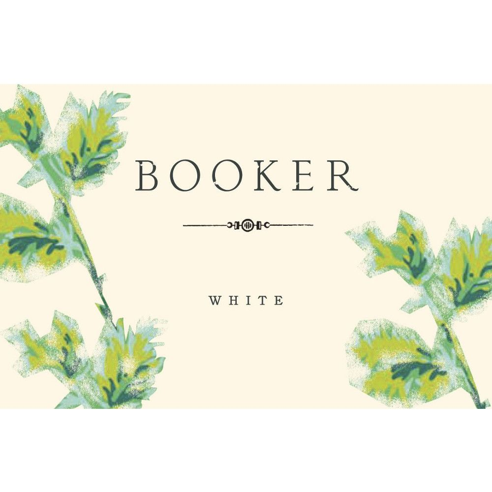 Booker Vineyard White 2010 Front Label