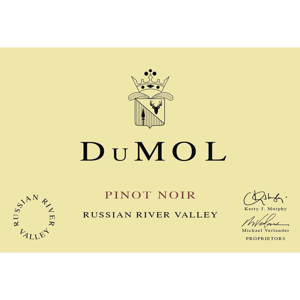 DuMOL Russian River Valley Pinot Noir 2007 Front Label