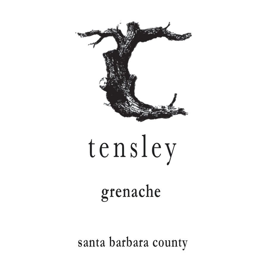 Tensley Grenache 2010 Front Label