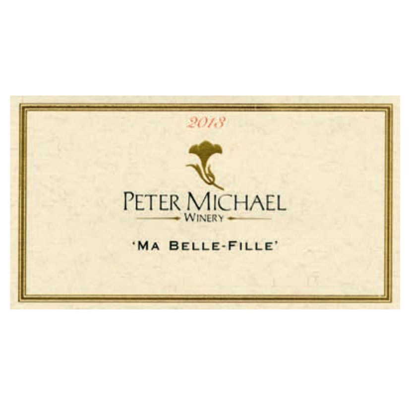 Peter Michael Ma Belle Fille Chardonnay 2013 Front Label