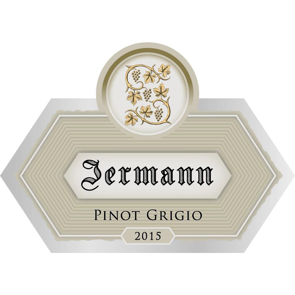 Jermann Pinot Grigio 2015 Front Label