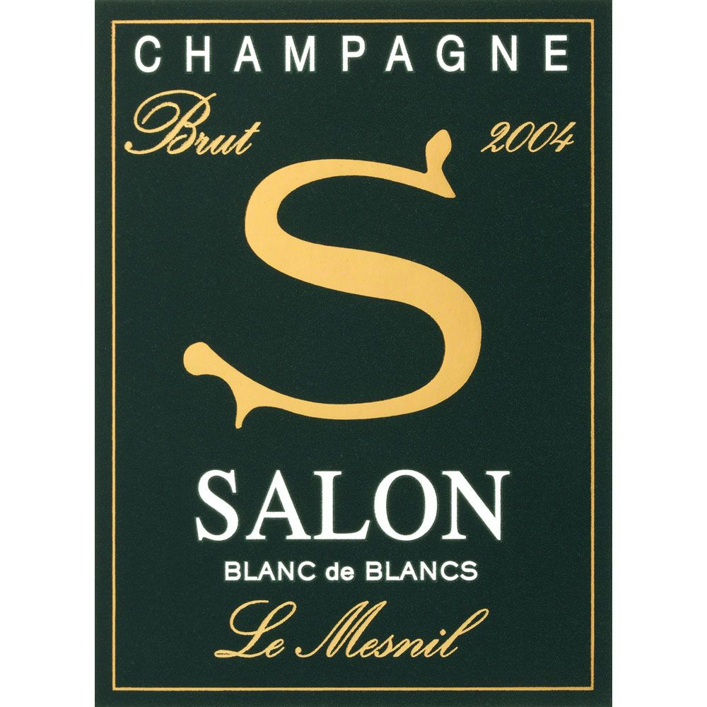 Salon Blanc de Blancs Le Mesnil (in Gift Box) 2004 Front Label