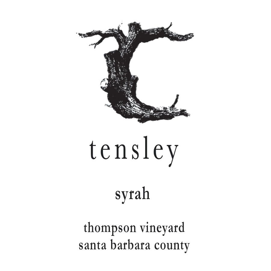 Tensley Thompson Vineyard Syrah 2011 Front Label