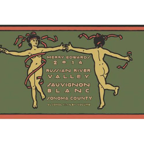 Merry Edwards Sauvignon Blanc (375ML half-bottle) 2014 Front Label