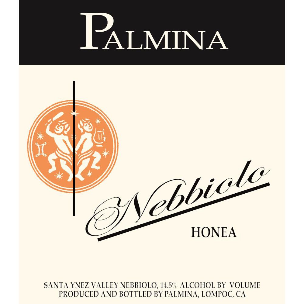 Palmina Honea Vineyard Nebbiolo 2009 Front Label