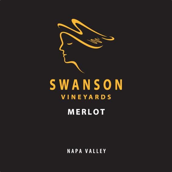 Swanson Napa Valley Merlot 2013 Front Label