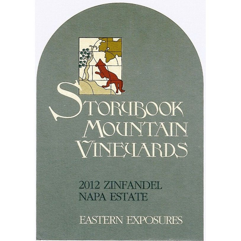 Storybook Mountain Eastern Exposures Zinfandel 2012 Front Label