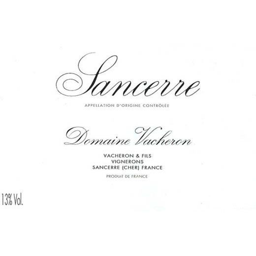 Domaine Vacheron Sancerre (375ML half-bottle) 2015 Front Label