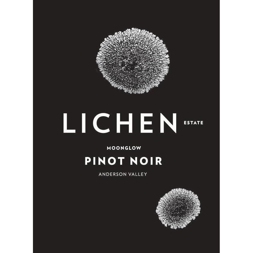 Lichen Moonglow Pinot Noir 2015 Front Label