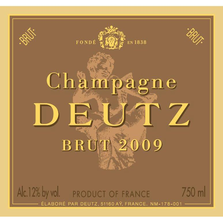 Deutz Brut 2009 Front Label