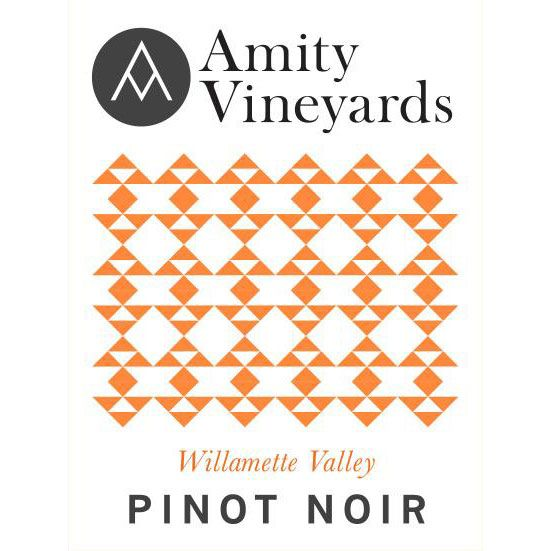 Amity Willamette Valley Pinot Noir 2014 Front Label