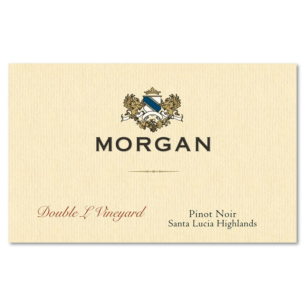 Morgan Double L Vineyard Pinot Noir 2015 Front Label