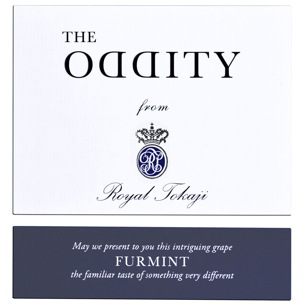 Royal Tokaji The Oddity Furmint 2015 Front Label
