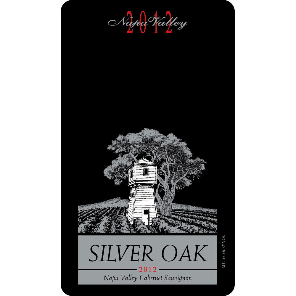 Silver Oak Napa Valley Cabernet Sauvignon 2012 Front Label
