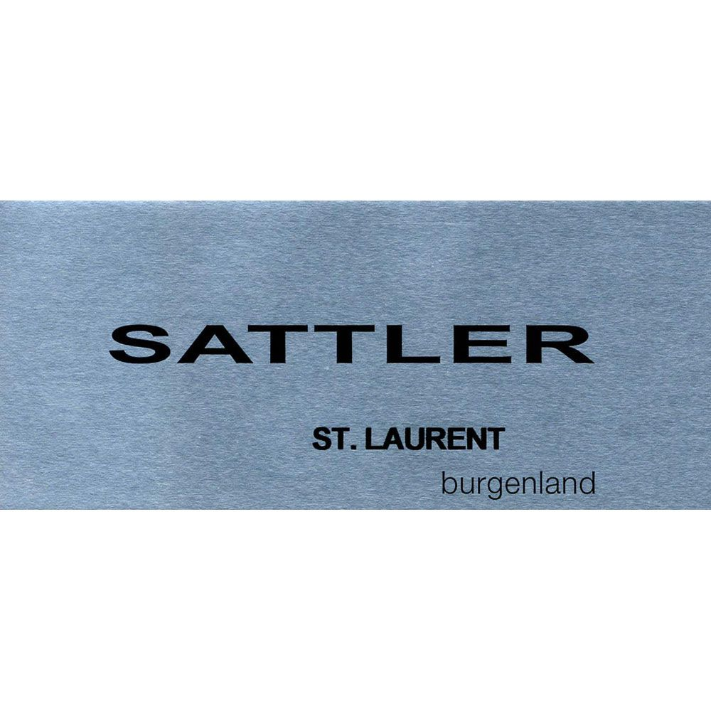Sattler St. Laurent 2014 Front Label