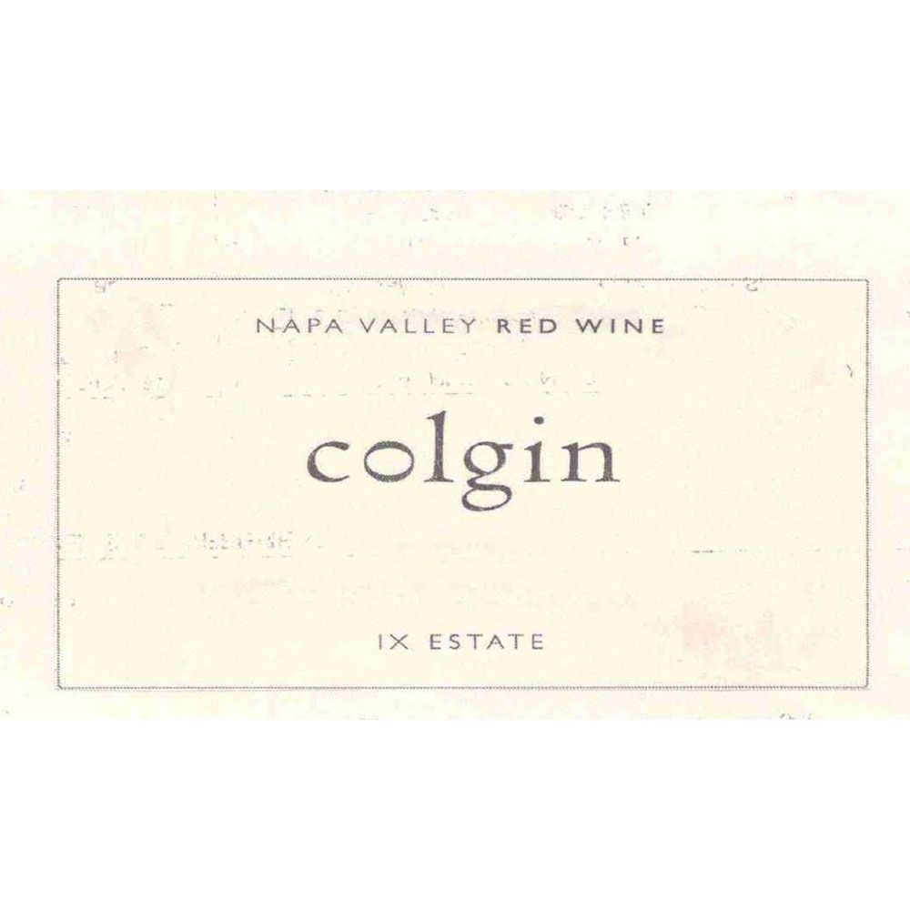 Colgin IX Estate Red 2011 Front Label