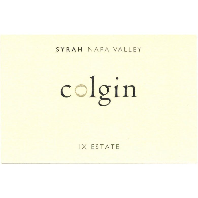 Colgin IX Estate Syrah 2013 Front Label
