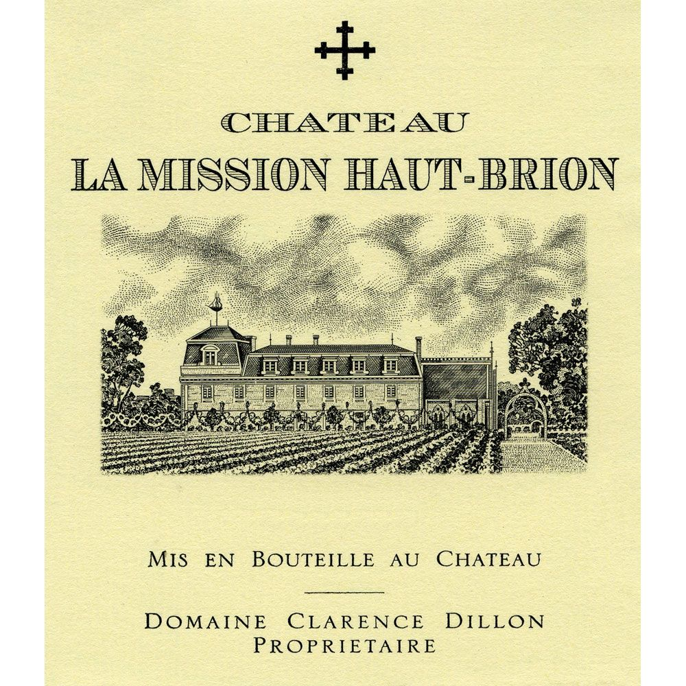 Chateau La Mission Haut-Brion (1.5 Liter Magnum) 2000 Front Label
