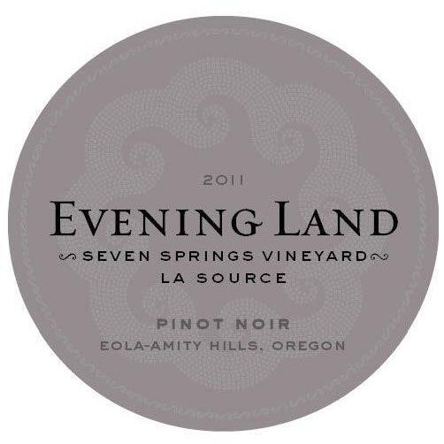Evening Land Seven Springs Vineyard La Source  Pinot Noir 2011 Front Label