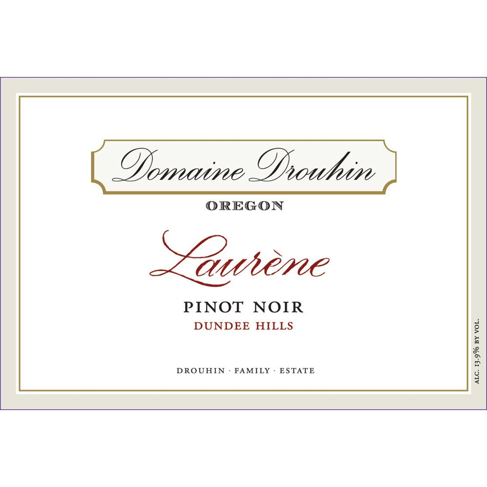 Domaine Drouhin Oregon Laurene Pinot Noir 2013 Front Label