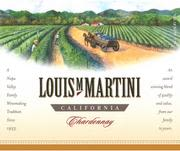 Louis Martini Chardonnay (half-bottle) 1997 Front Label