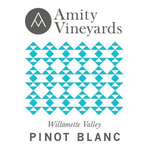 Amity Pinot Blanc 2015 Front Label