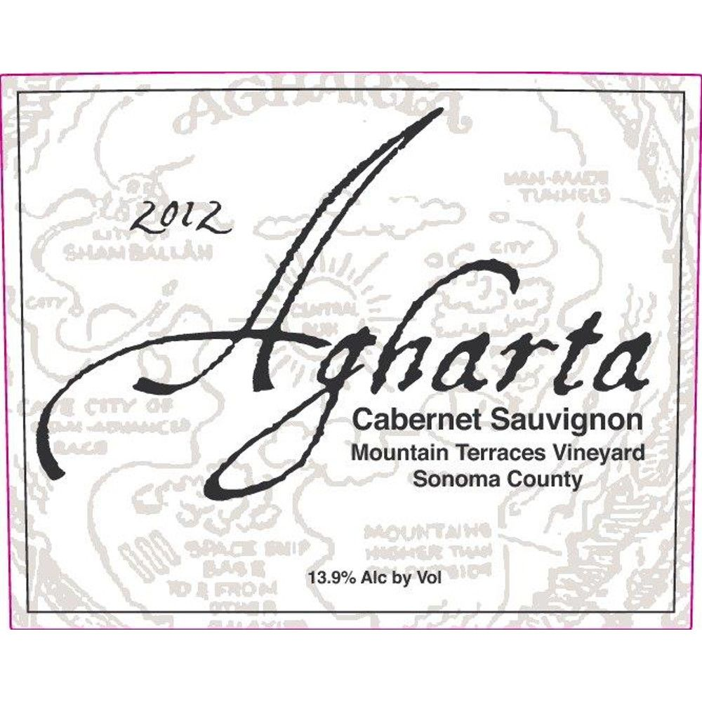 Agharta Mountain Terraces Cabernet Sauvignon 2012 Front Label