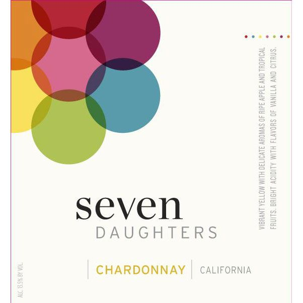 Seven Daughters Chardonnay 2014 Front Label