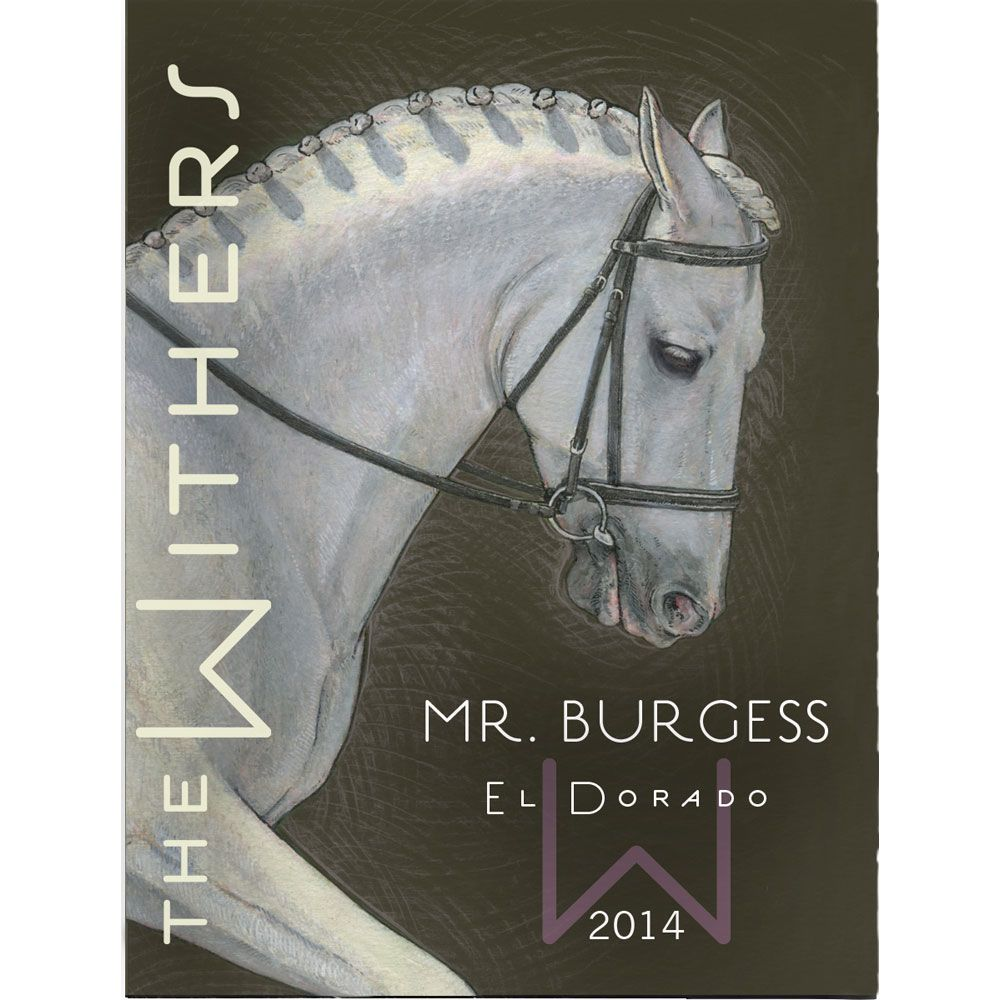 The Withers Mr. Burgess 2014 Front Label
