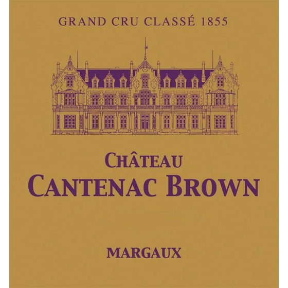 Chateau Cantenac Brown (1.5 Liter Magnum) 2012 Front Label