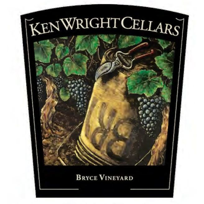 Ken Wright Cellars Bryce Vineyard Pinot Noir 2015 Front Label