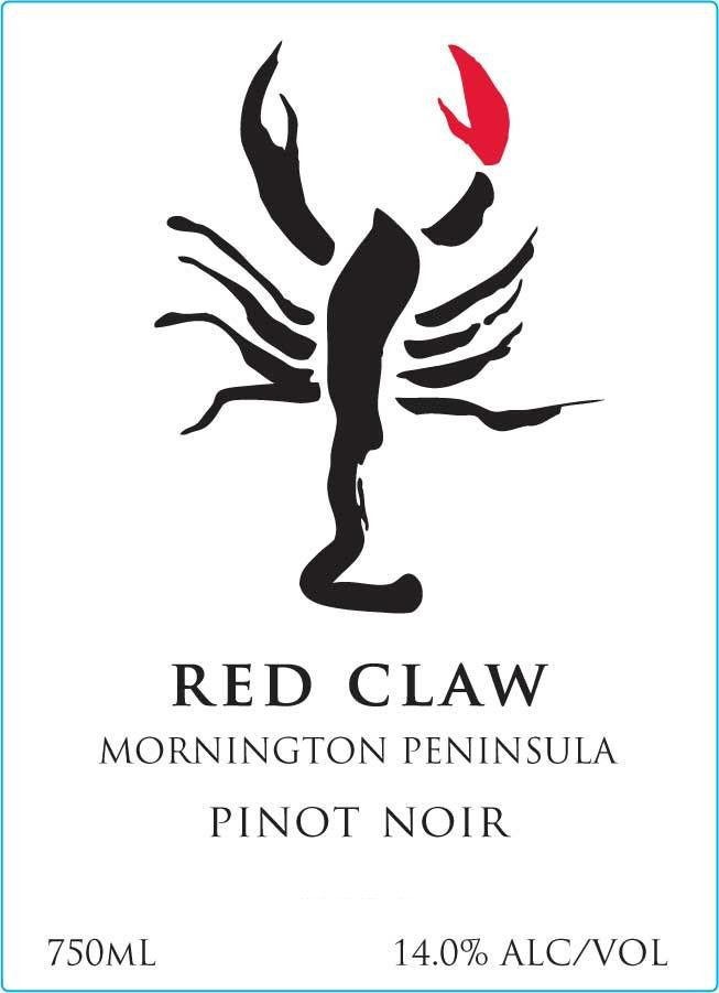 Yabby Lake Red Claw Pinot Noir 2015 Front Label