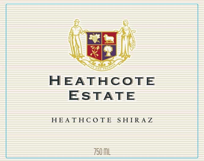 Yabby Lake Heathcote Estate Shiraz 2013 Front Label