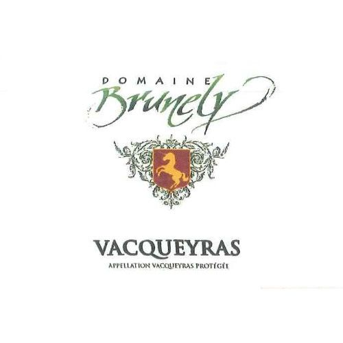 Domaine Brunely Vacqueyras Blanc 2014 Front Label