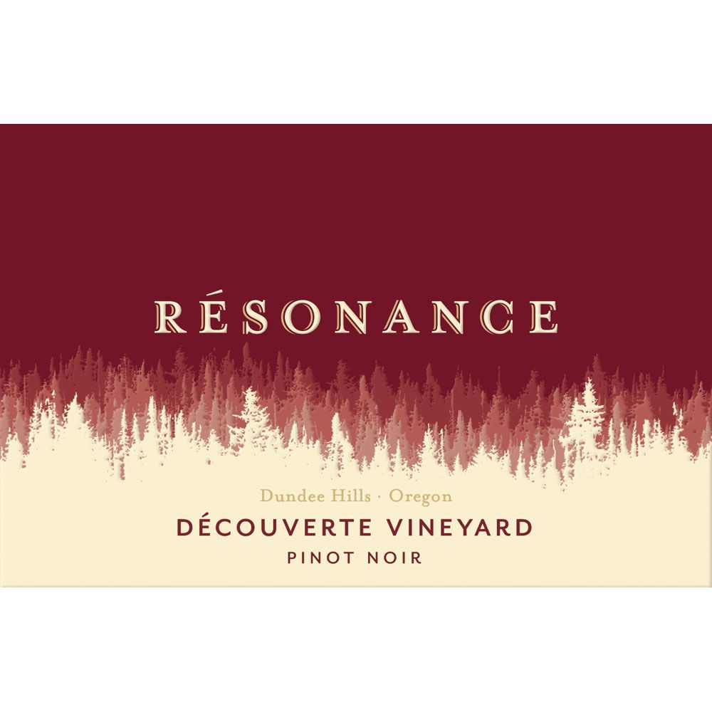 Resonance Decouverte Vineyard Pinot Noir 2014 Front Label