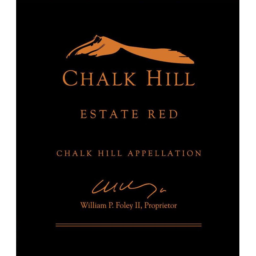 Chalk Hill Estate Red (1.5 Liter Magnum) 2013 Front Label