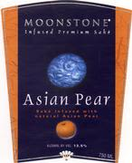 SakeOne Moonstone Asian Pear Sake Front Label
