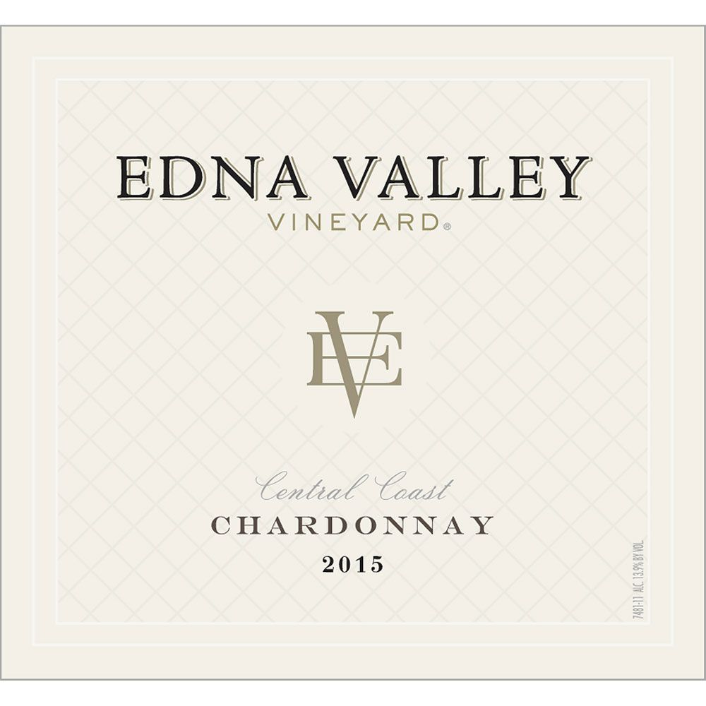 Edna Valley Vineyard Chardonnay 2015 Front Label