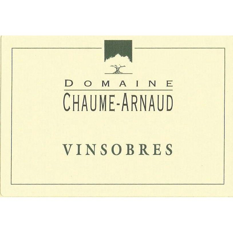 Domaine Chaume-Arnaud Vinsobres 2013 Front Label