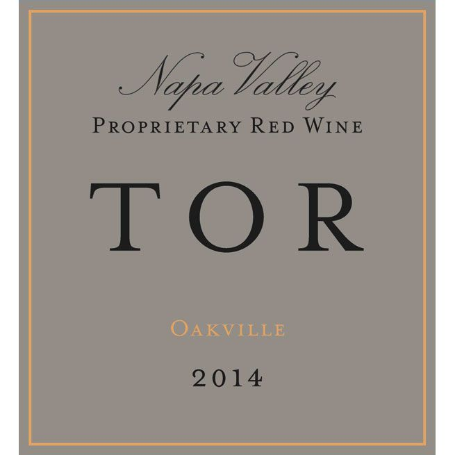 TOR Oakville Proprietary Red 2014 Front Label
